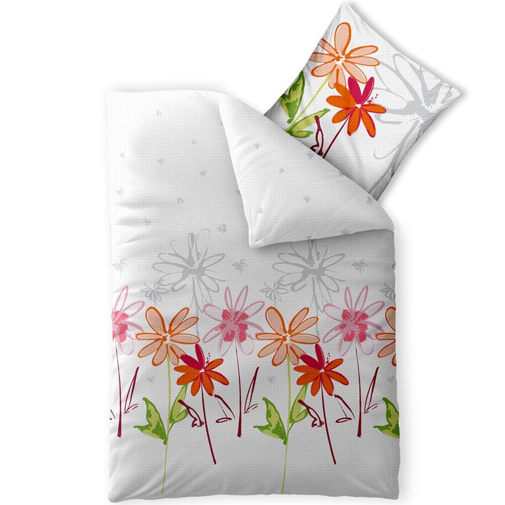 bettw sche baumwolle garnitur sommer seersucker b gelfrei rei verschlu enjoy ebay. Black Bedroom Furniture Sets. Home Design Ideas