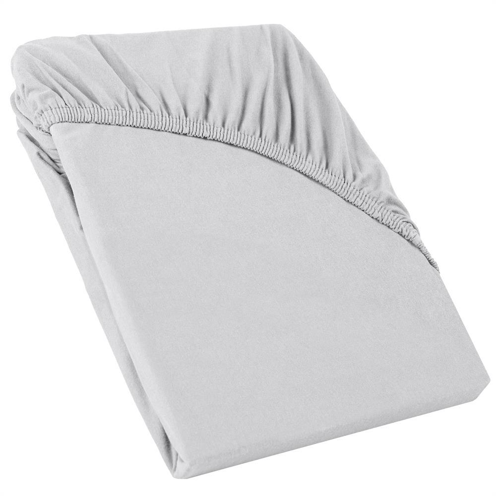topper spannbettlaken spannbetttuch laken boxspring jersey baumwolle perla. Black Bedroom Furniture Sets. Home Design Ideas