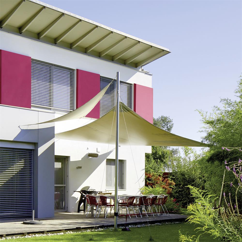 sonnensegel sonnenschutz tarp beschattung garten sichtschutz wasserabweisend pes. Black Bedroom Furniture Sets. Home Design Ideas