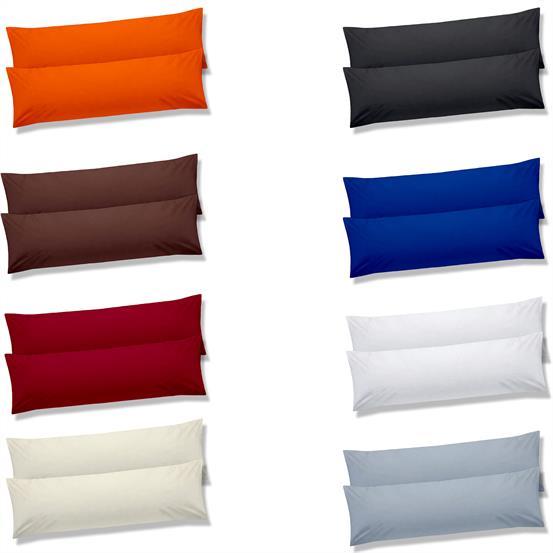 kissenbezug stillkissen seitenschl ferkissen 40x145 doppelpack ko tex bebasic ebay. Black Bedroom Furniture Sets. Home Design Ideas