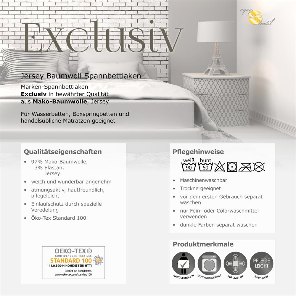 spannbettlaken wasserbett boxspringbett baumwolle 200x220 220x240 exclusiv bordeaux. Black Bedroom Furniture Sets. Home Design Ideas