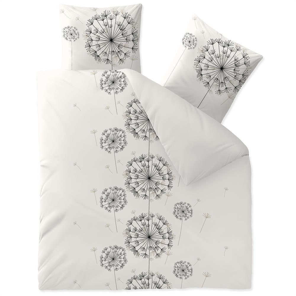 Bettwäsche Garnitur 200x220 Baumwolle Reißverschluss Fashion Fancy