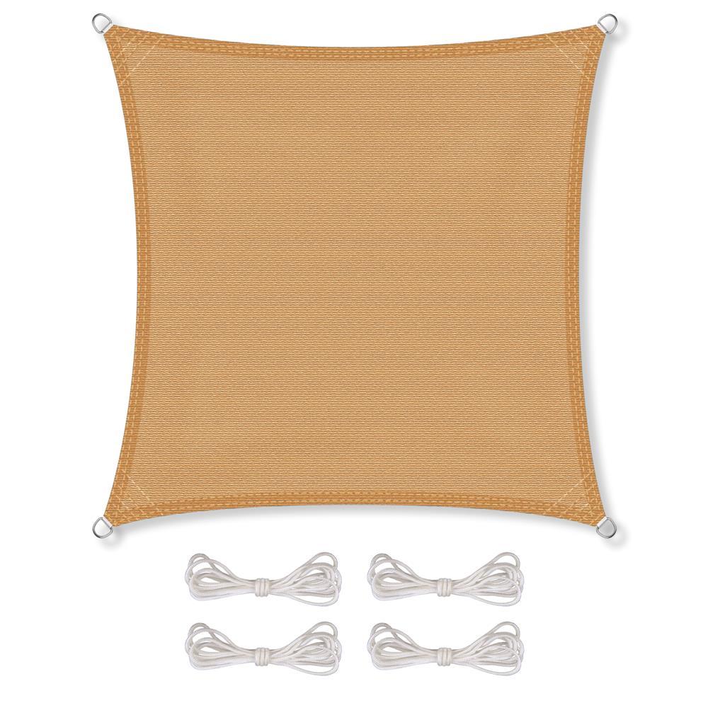 Indexbild 18 - Sonnenschutz Segel HDPE Vierecke Sonnendach Segeltuch Balkon UV-Schutz CelinaSun