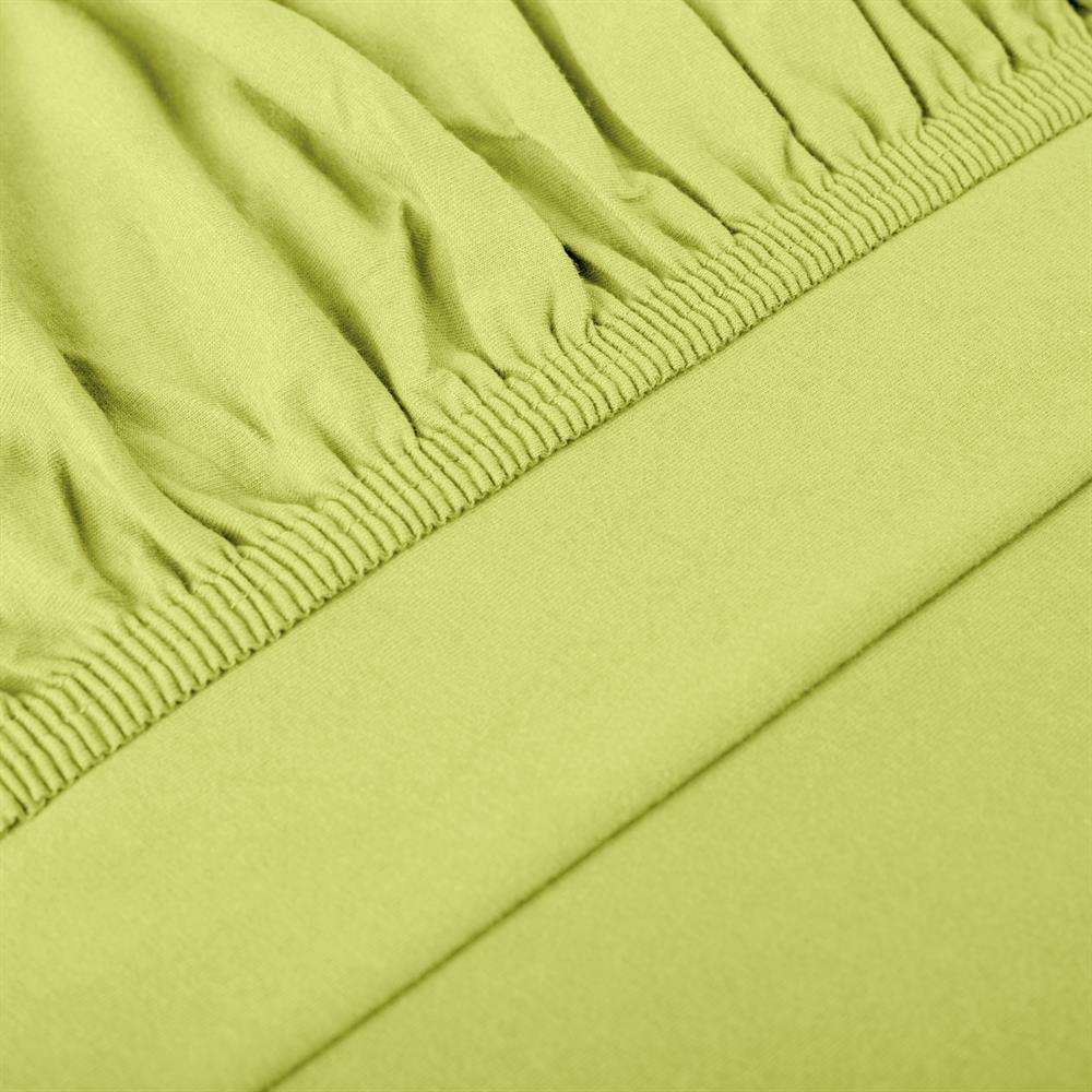 perla spannbettlaken topper baumwolle gr n 180x200 200x200. Black Bedroom Furniture Sets. Home Design Ideas
