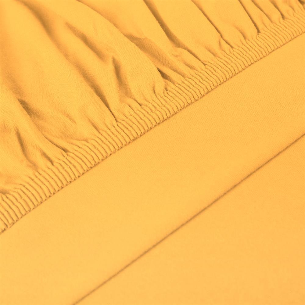 perla spannbettlaken topper baumwolle mais gelb 180x200 200x200. Black Bedroom Furniture Sets. Home Design Ideas