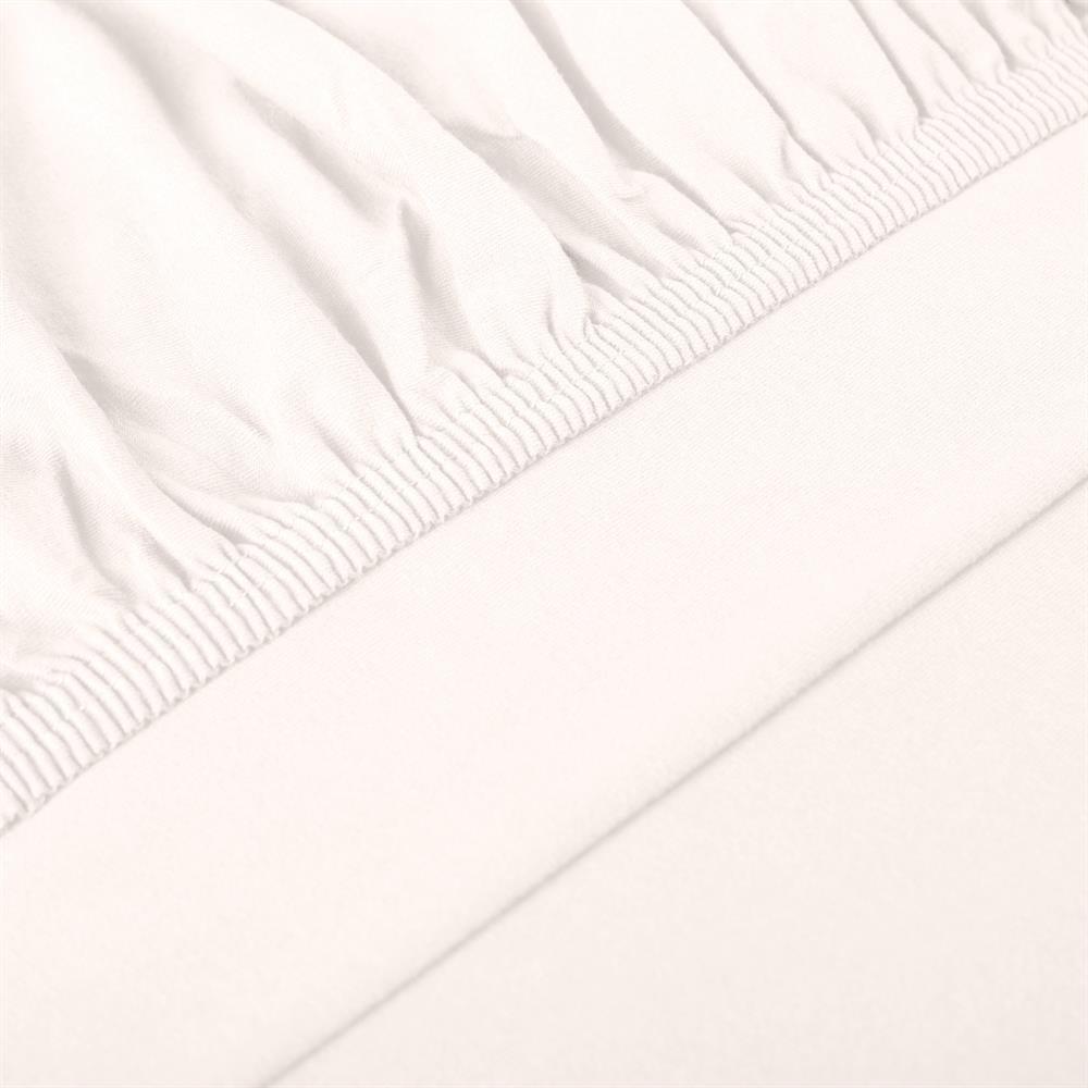 perla spannbettlaken topper baumwolle schnee wei 180x200 200x200. Black Bedroom Furniture Sets. Home Design Ideas