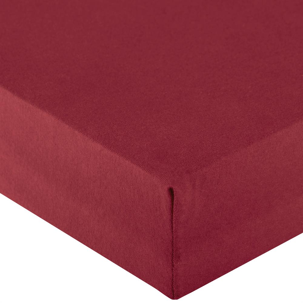 spannbetttuch spannbettlaken wasserbett jersey 200x220 220x240 cm royal xl bordeaux rot www. Black Bedroom Furniture Sets. Home Design Ideas