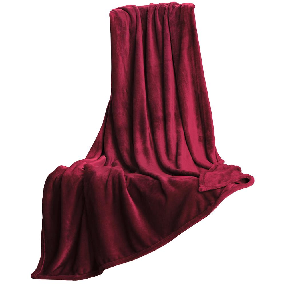 kuscheldecke cashmere touch 200 x 220 cm xxl gr e bordeaux salsa. Black Bedroom Furniture Sets. Home Design Ideas