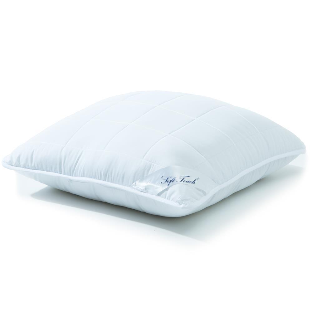 soft touch microfaser kopfkissen 80x80 1300g heimtextilien und. Black Bedroom Furniture Sets. Home Design Ideas