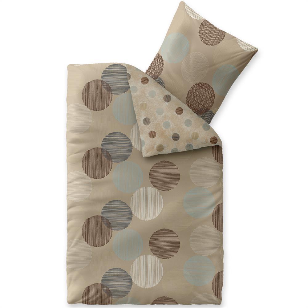 bettw sche garnitur baumwolle trend 155x220 fara natur. Black Bedroom Furniture Sets. Home Design Ideas