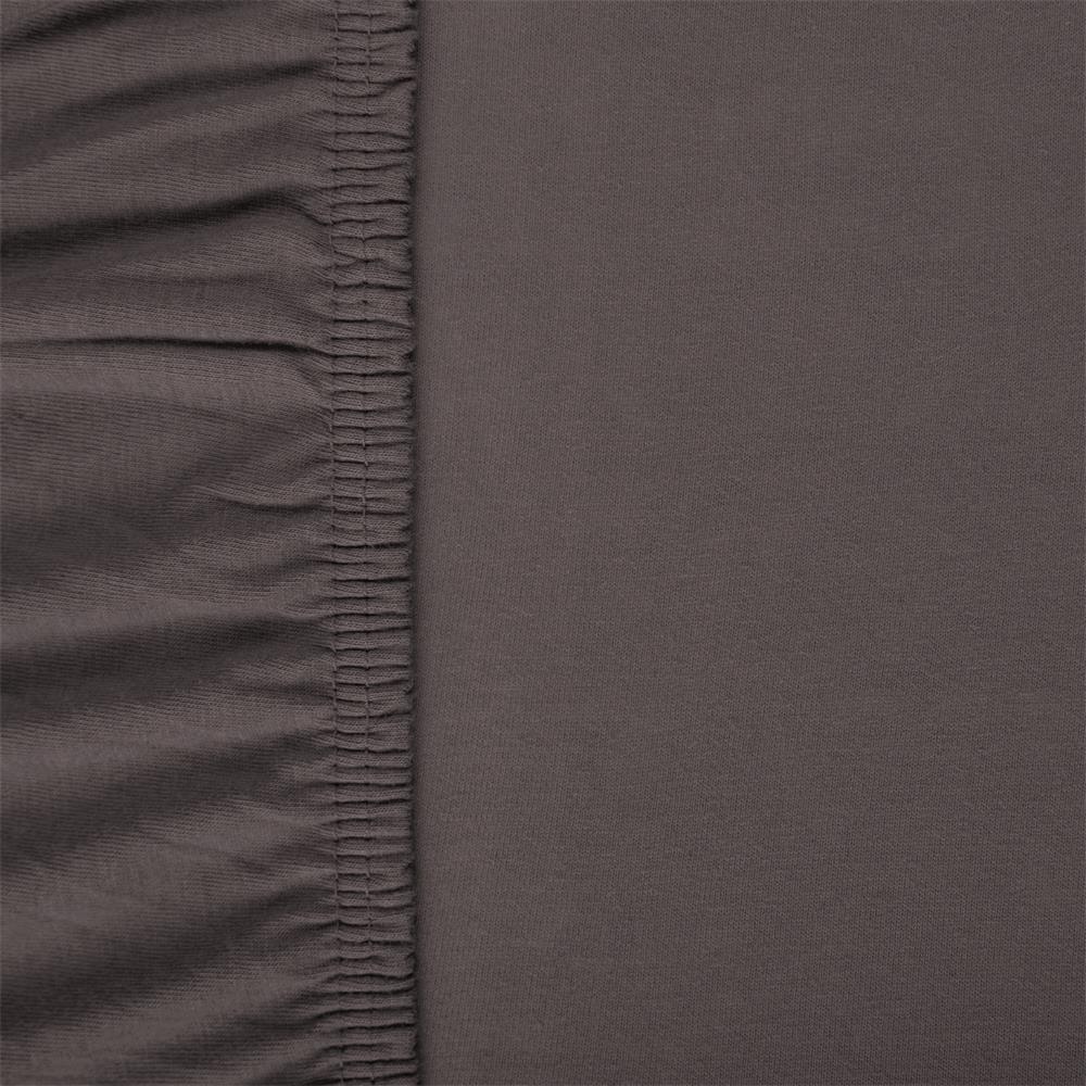 spannbettlaken baumwolle jersey viana 90x200 100x200 anthrazit. Black Bedroom Furniture Sets. Home Design Ideas