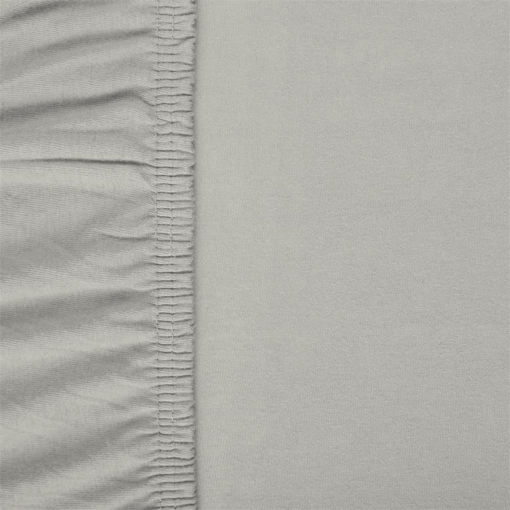 spannbettlaken baumwolle jersey viana 180x200 200x200 grau. Black Bedroom Furniture Sets. Home Design Ideas