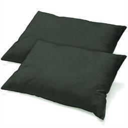 Kissenbezug Baumwolle Jersey Active Doppelpack 40x80 anthrazit