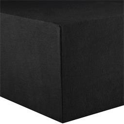 CelinaTex Spannbettlaken Jersey Rundumgummi Active Doppelpack 90x200-100x200 schwarz