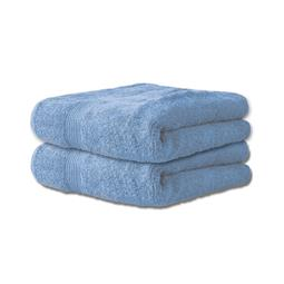 Handtuch Baumwolle Bari Doppelpack 30x50 jeansblau