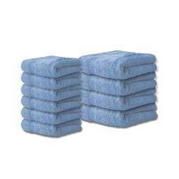Bari Handtuch Baumwolle Set 6x 30x50 + 4x 50x100 jeansblau