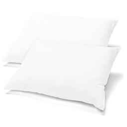 Kissenbezüge Kissenhülle Kissen Mako-Baumwolle Jersey Doppelpack 40x80 BeNature weiß