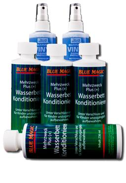 Set / Blue Magic 4x Konditionierer 236 ml + 2x Vinyl Reiniger 237 ml