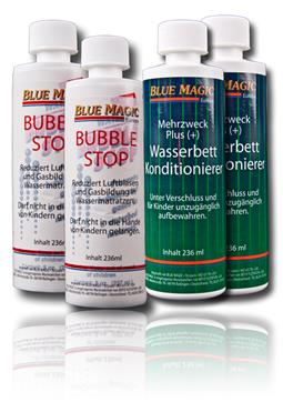 Set / Blue Magic 2x Konditionierer 236 ml + 2x Bub ble Stop 236 ml
