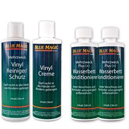 Set / Bue Magic 2x Konditionierer 236 ml + 1x Vinyl Reiniger + 1x Creme