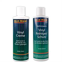 Set / Blue Magic 1 x Vinylreiniger 237 ml & 1 x Vi nylcreme 236 ml