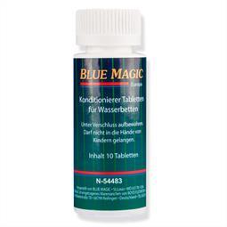 Blue Magic Konditionierer Tabletten für Wasserbetten 10 Stück