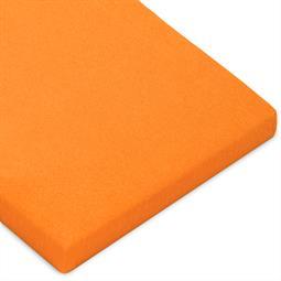 Topper Spannbettlaken Baumwolle Casca orange 120x200-130x220
