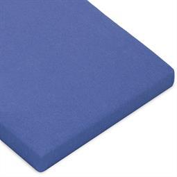 Topper Spannbettlaken Baumwolle Casca royal blau 90x200-100x220