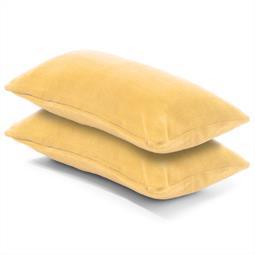 Kissenbezug Coral-Fleece Doppelpack 40x80 beige Comfortable