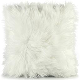 CelinaTex Dekokissen Cuddly Fell-Imitat 45x45 weiß