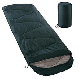 aqua-textil Deckenschlafsack Mikrofaser Kapuze Outdoor XXL petrol-grün