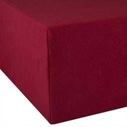 Spannbettlaken Wasserbett Boxspringbett Baumwolle Doppelpack 90x200-100x220 Exclusiv bordeaux