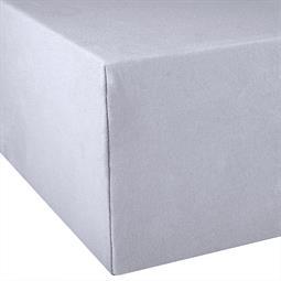 Spannbettlaken Wasserbett Boxspringbett Baumwolle 180x200-200x220 Exclusiv silbergrau