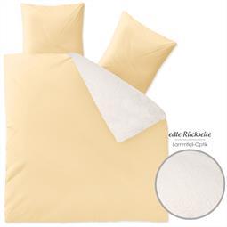 Fantasia Bettwäsche Lambskin 200x220 Sandy beige