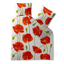 CelinaTex Bettwäsche Garnitur 200x220 Baumwolle Reißverschluss Fashion Isabella rot weiß