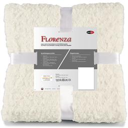CelinaTex Kuscheldecke Plüsch Nicki Florenza 150x200 weiß