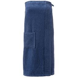 Kilt Baumwolle Frottee Funlike lang 90x150 cm S/M dunkelblau