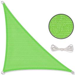 CelinaSun Sonnensegel HDPE Dreieck 3,6x3,6x5,1 grün
