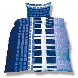 aqua-textil Bettwäsche Garnitur Mikrofaser Reißverschluss Living Doppelpack 155x220 Budapest