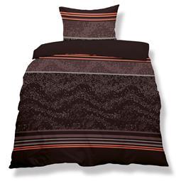 aqua-textil Bettwäsche Garnitur Mikrofaser Reißverschluss Living 135x200 Chicago