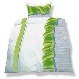 aqua-textil Bettwäsche Garnitur Mikrofaser Reißverschluss Living 155x220 Dallas