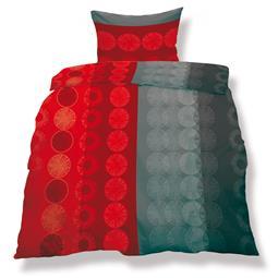 aqua-textil Bettwäsche Garnitur Mikrofaser Reißverschluss Living 135x200 Miami