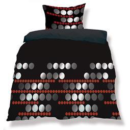 aqua-textil Bettwäsche Garnitur Mikrofaser Reißverschluss Living 200x200 Nevada