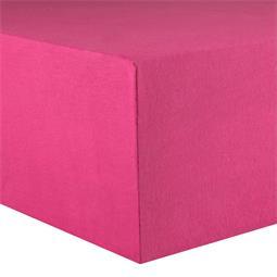 Kinder Spannbettlaken Baumwolle Lucina Minis 60x120-70x140 pink