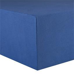 CelinaTex Spannbettlaken Baumwolle Lucina 200x200-200x220 royalblau