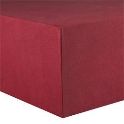 CelinaTex Kinder Spannbettlaken Baumwolle Lucina Minis 60x120-70x140 bordeaux rot