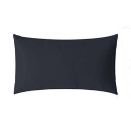 aqua-textil Kissenbezug Mako Satin Marken-Reißverschluss Luxury 50x70 dunkelblau