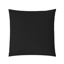 aqua-textil Kissenbezug Mako Satin Marken-Reißverschluss Luxury 60x60 schwarz