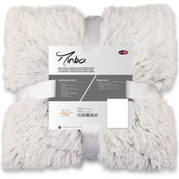 CelinaTex Kuscheldecke 150x200 Longhair Flokati creme weiss grau