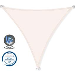 CelinaSun Sonnensegel PES UPF 50+ UV-Schutz wasserabweisend Dreieck 3x3x3 weiß
